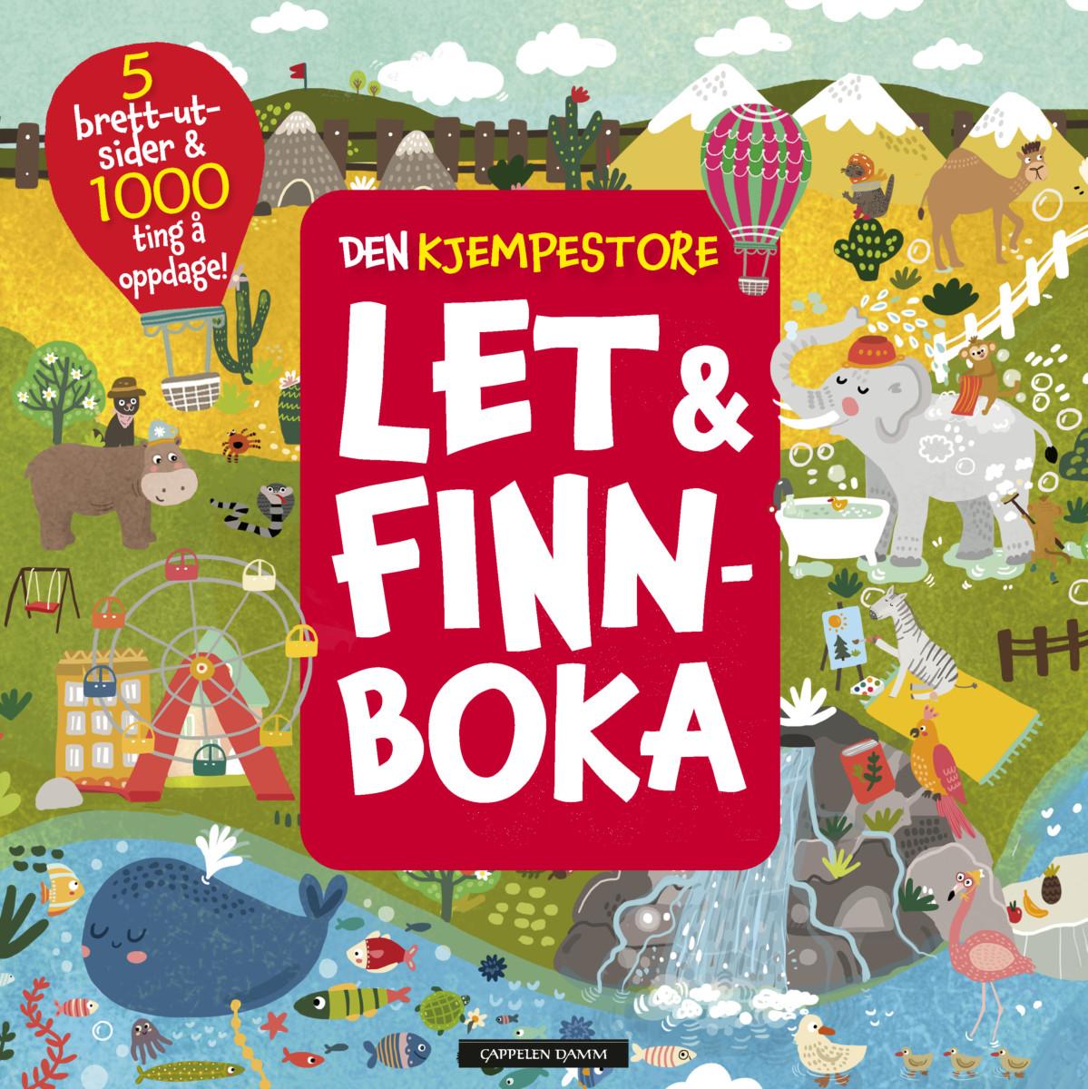Den kjempestore let & finn-boka