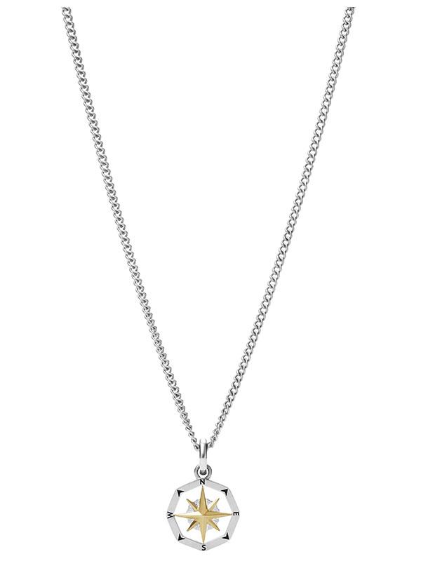 FOSSIL Halsband Mens Dress - Silver JF03844998