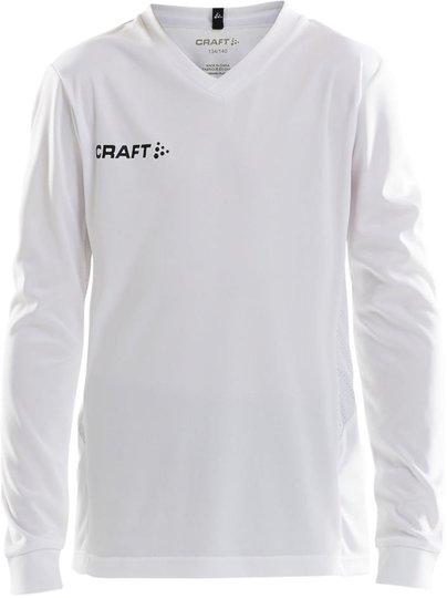 Craft Long Sleve Jersey Trøye, Hvit 122-128