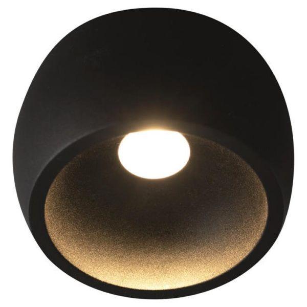 Hide-a-Lite Globe G2 Surface Downlight svart 2700 K