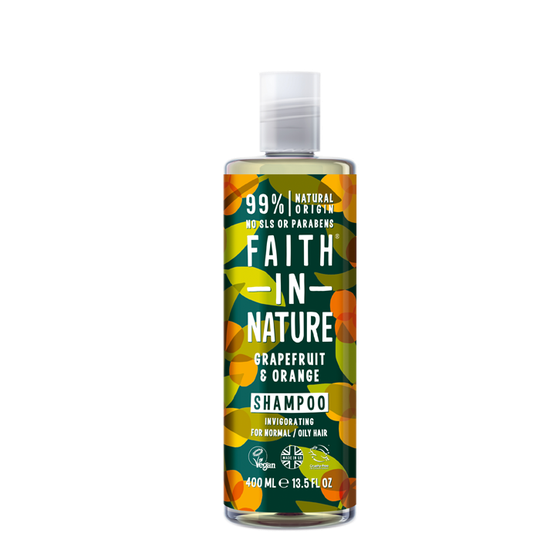 Grapefruit & Orange Shampoo, 400 ml