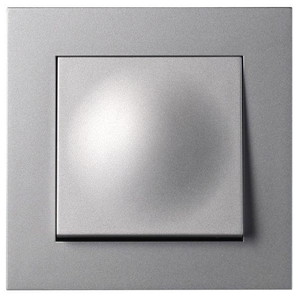 Elko Plus Trapp/1-P Skruv Vaihtokytkin ruuviliitäntä alumiini
