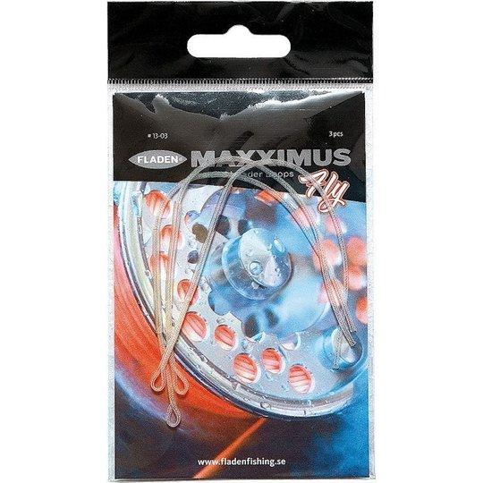 Maxximus Braided Leader Loops 3st/pkt