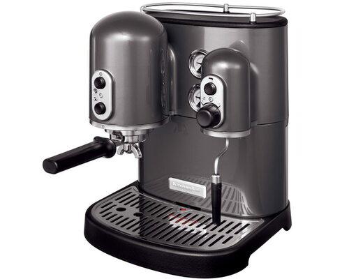 Kitchenaid Es2102ems Espressomaskin - Grå Metallic