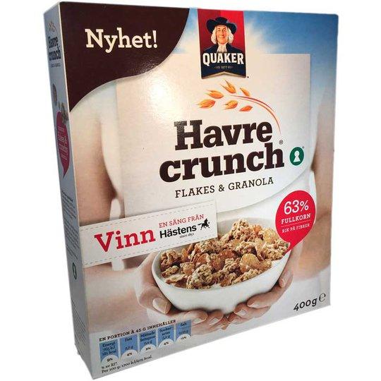 Havre crunch - 67% rabatt
