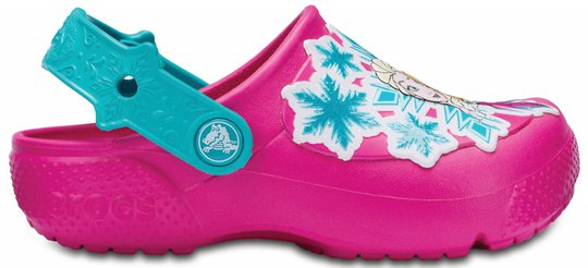 Crocs Frozen Clogs, Candy Pink 19-20
