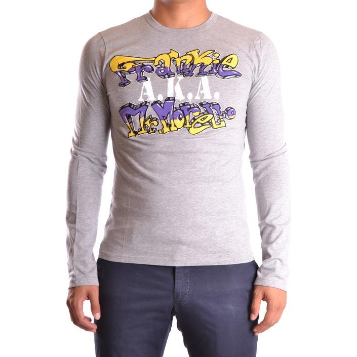 Frankie Morello Men's T-Shirt Grey 162968 - grey S