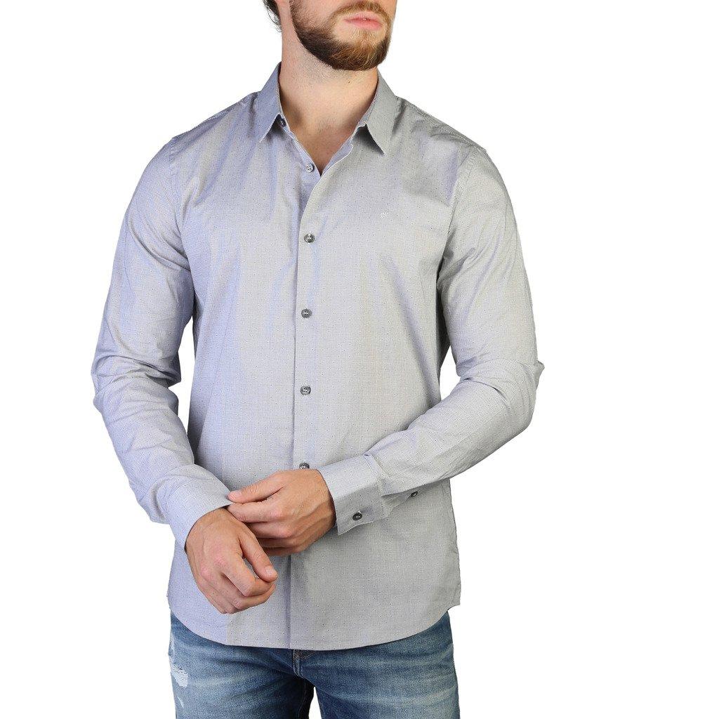 Calvin Klein Men's Shirt Blue 349464 - blue S