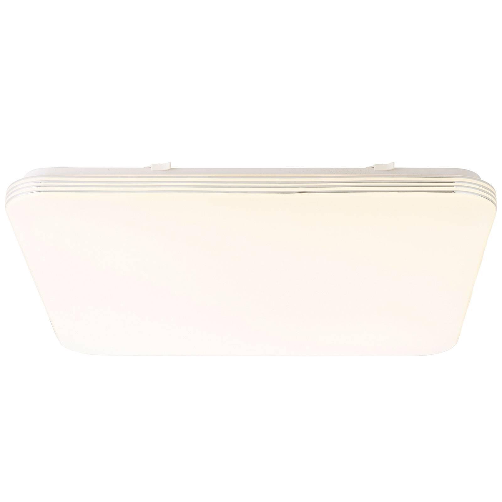 LED-kattovalaisin Ariella valkoinen/kromi, 54x54cm