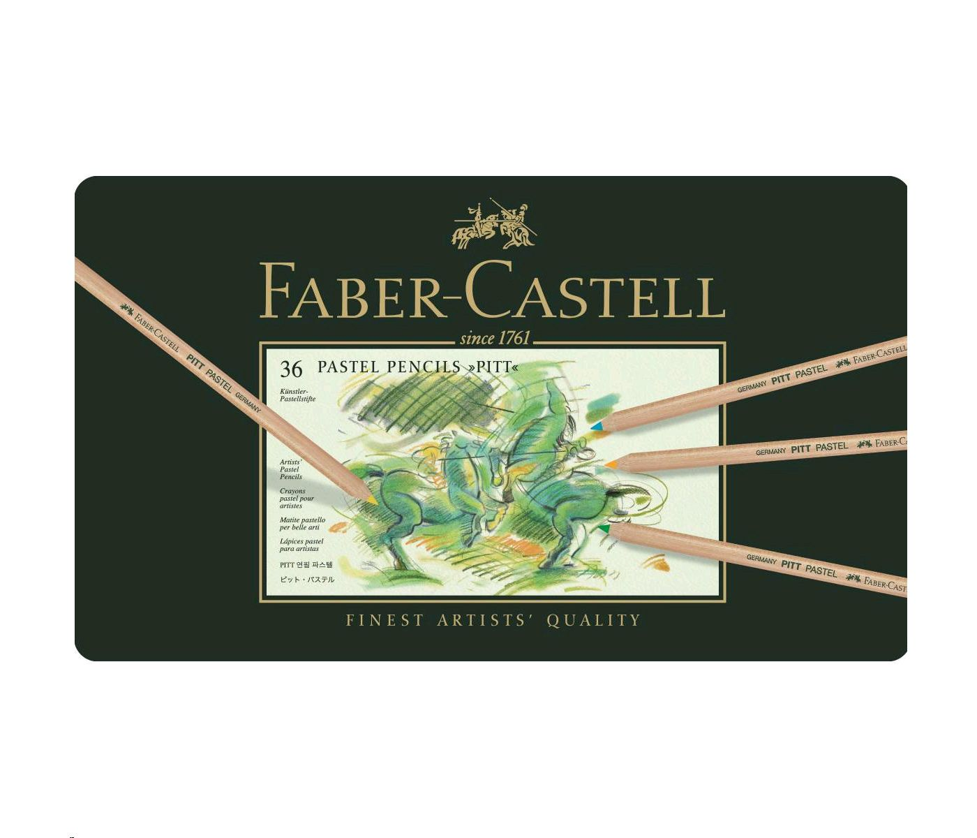 Faber-Castell - Pitt Pastel Colour pencil, 36 pc (112136)