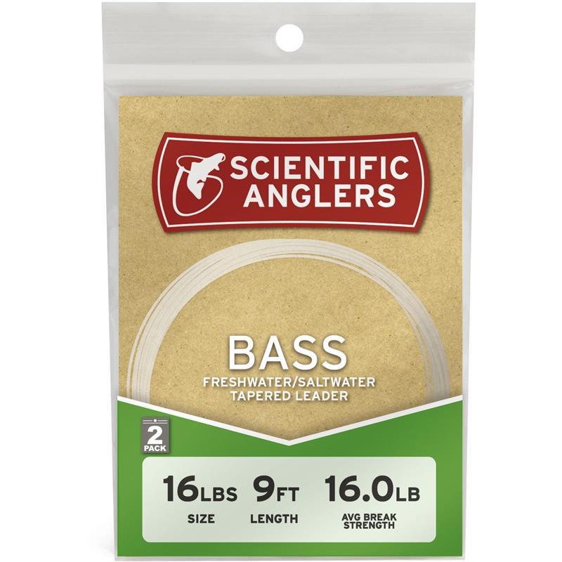 SA Bass Leader 9' 10# / 0,23mm 2-pack