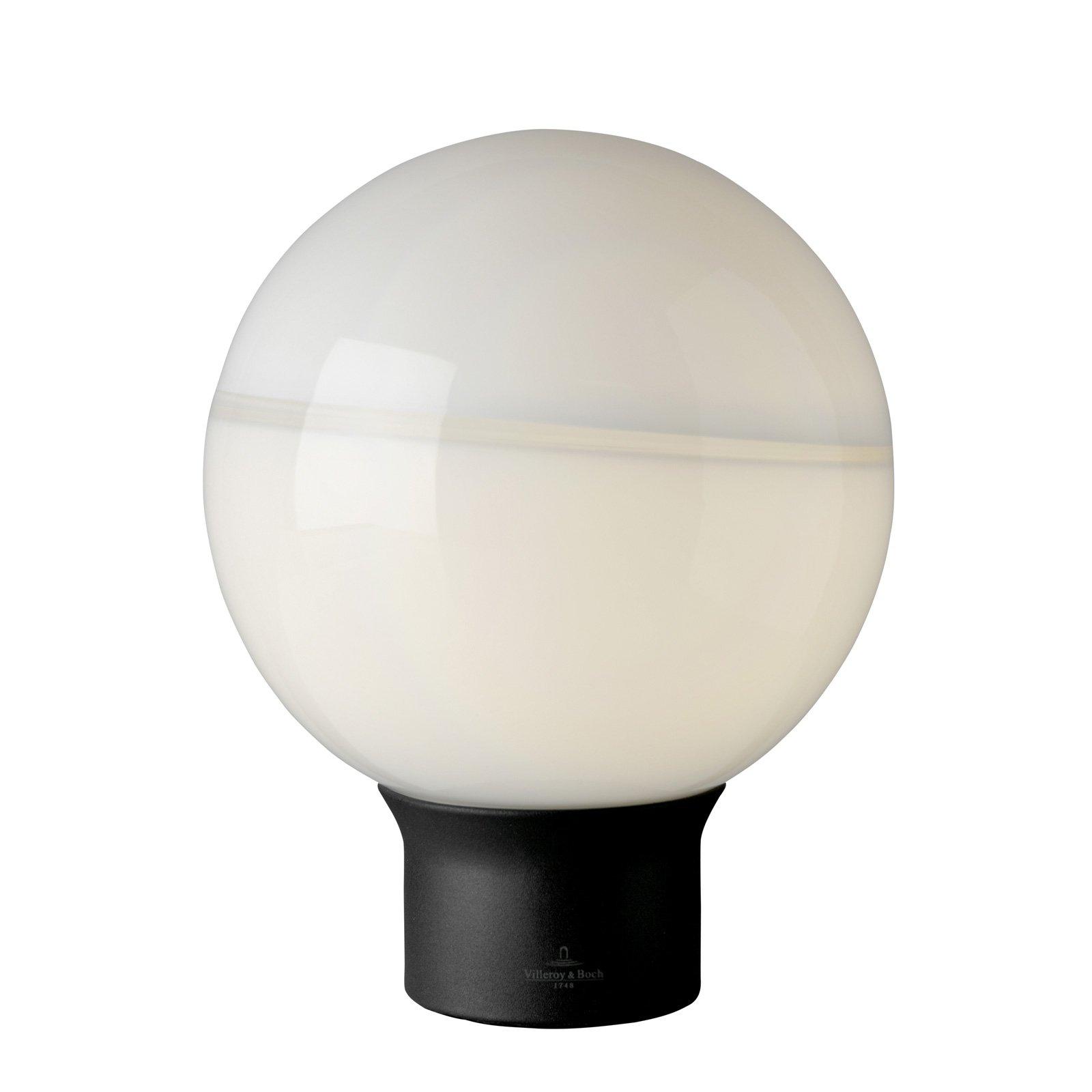 Villeroy & Boch Tokio bordlampe svart-hvit 20 cm