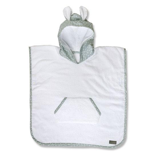 Vinter & Bloom - Nordic Leaf Towel Poncho - Mild Green