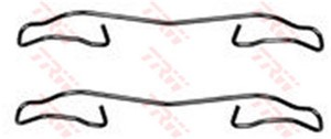 Tarvikesarja, jarrupala, Etuakseli, Taka-akseli, FORD,RENAULT, 6531187