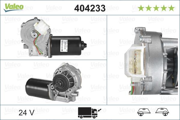 Pyyhkijän moottori VALEO 404233