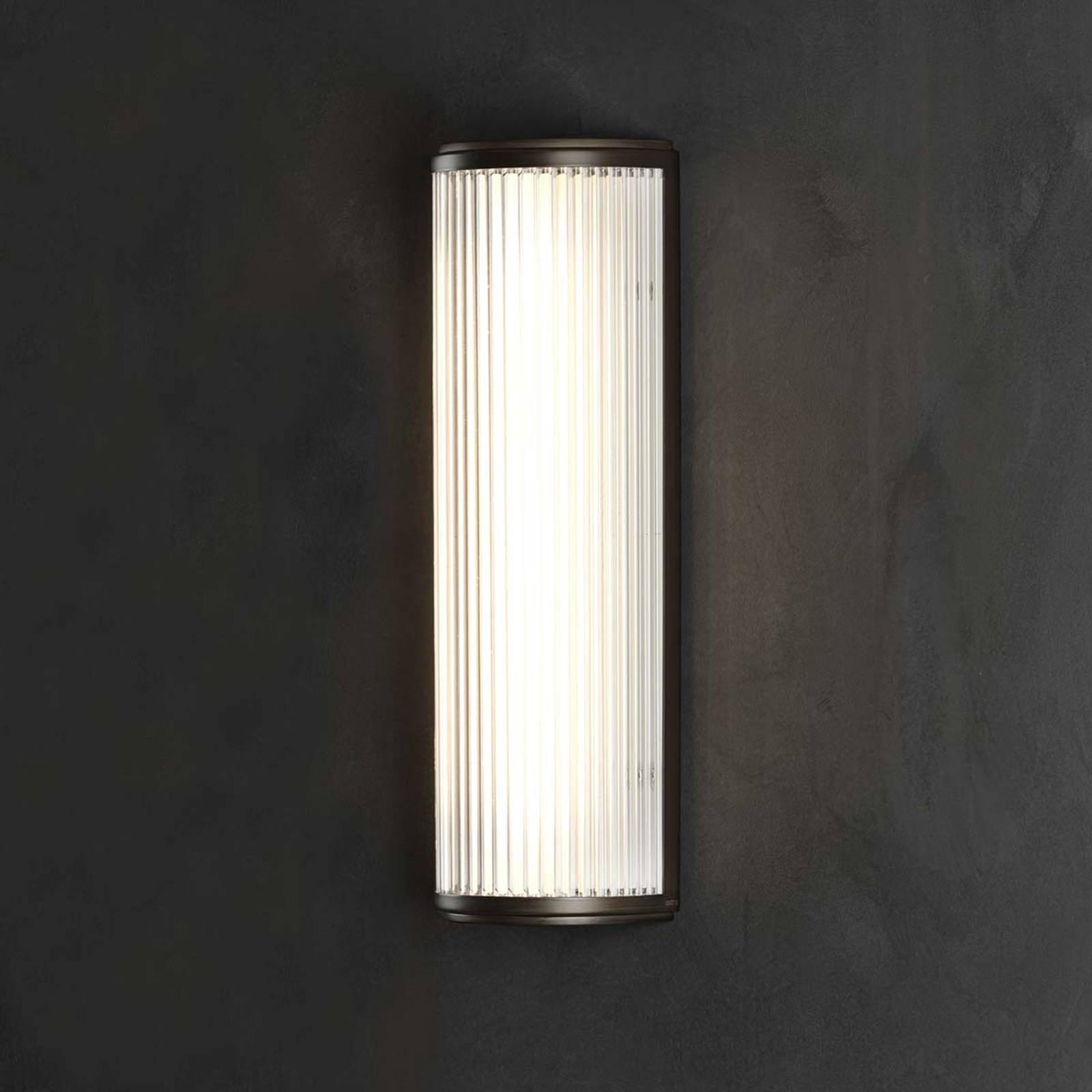 LED-vegglampe Versailles med pene riller
