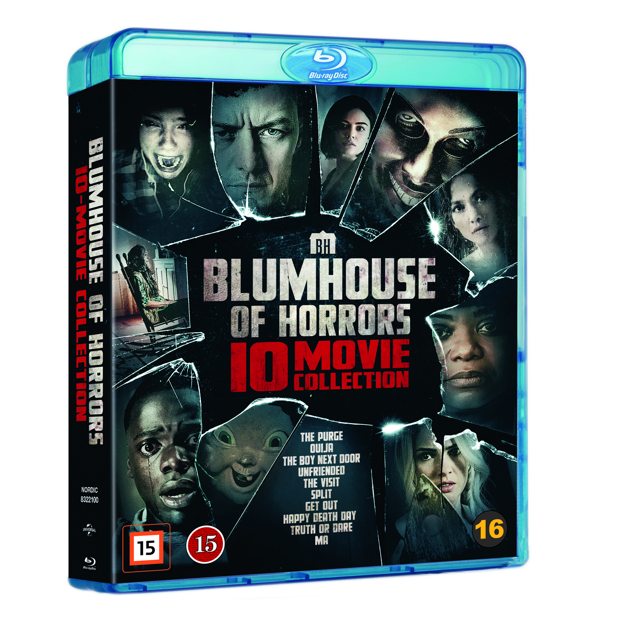 Blumhouse Of Horrors – 10 Movie Coll- Blu ray