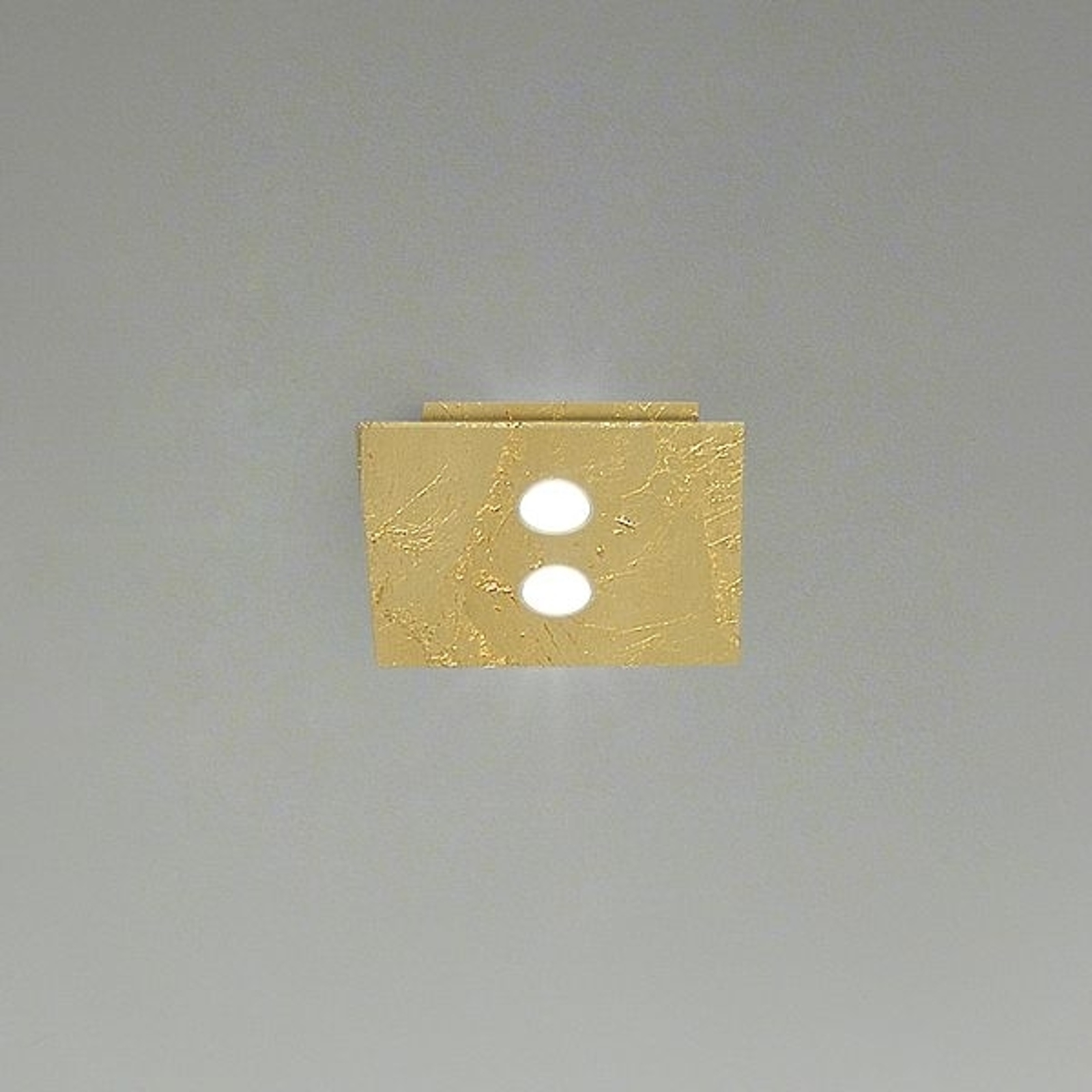 ICONE Slim -LED-kattovalaisin, 2-lamppuinen