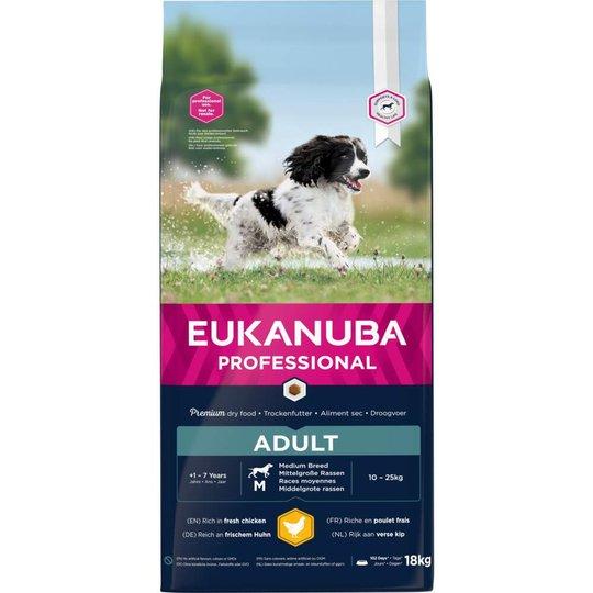 Eukanuba Dog Breeder Adult Medium Breed 18 kg