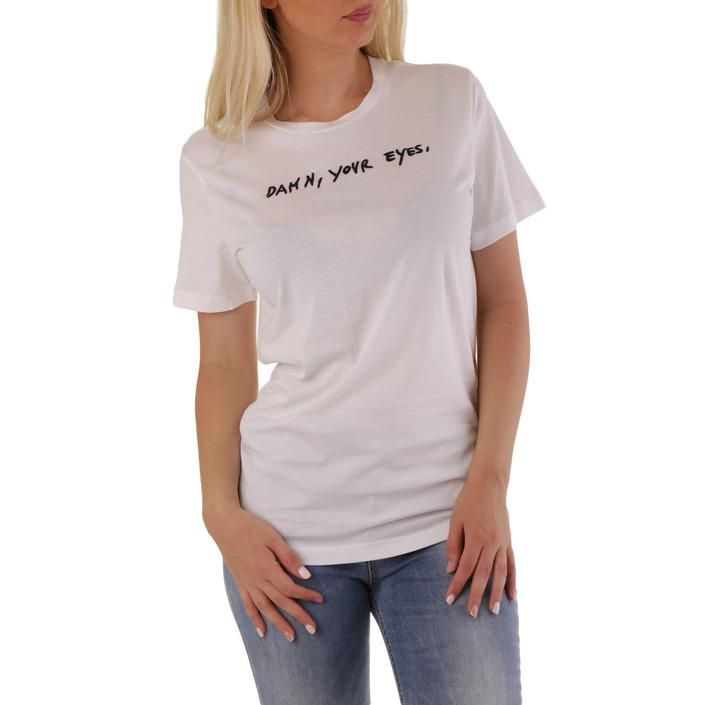 Diesel Women's T-Shirt Various Colours 302492 - white 2XS