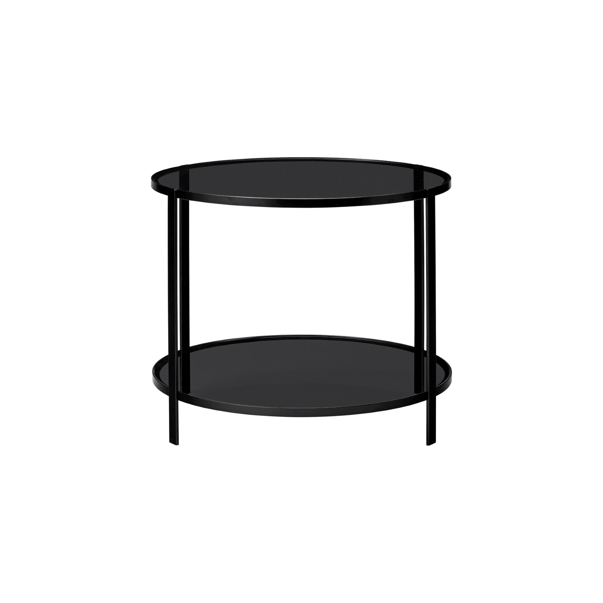 Runt bord FUMI table svart, AYTM