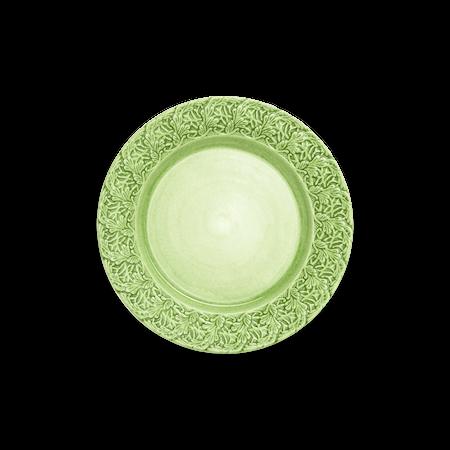 Spets Tallrik Grön 25 cm