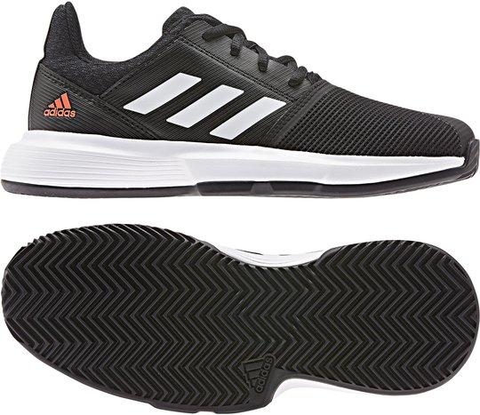 Adidas Courtjam Sko, Svart Stl 32
