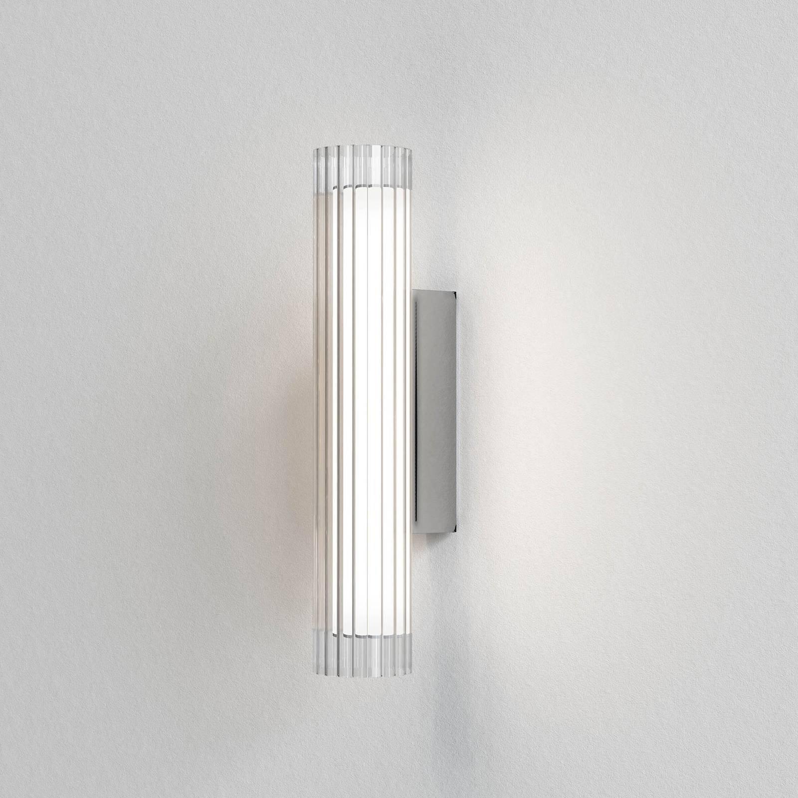 Astro io Wall LED-vegglampe IP44, krom, 42 cm