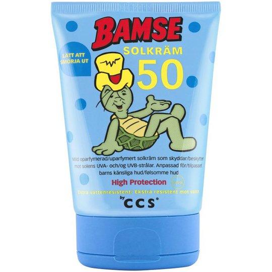 Bamse Solkräm SPF 50 - 55% rabatt