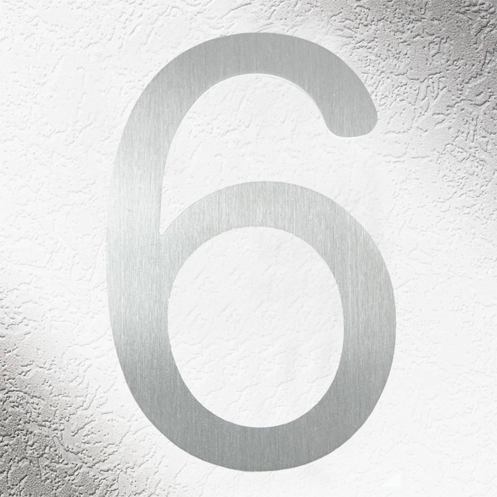 Laadukkaat talonumerot ruostumatonta terästä, 6