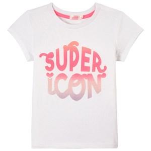 Billieblush Glitter Print T-shirt Vit 4 år