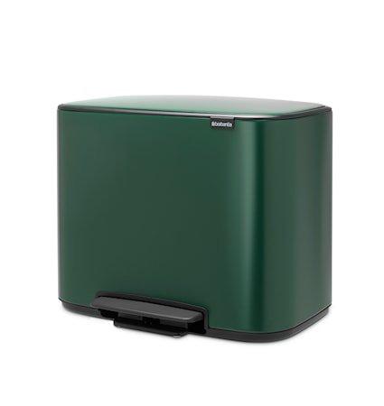Bo Pedalbøtte Pine Green 36 liter