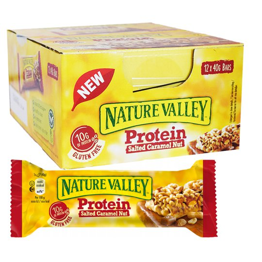 Proteinbars Salt & Caramel 12-pack - 74% rabatt