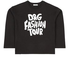 Dolce & Gabbana D&G Fashion Tour Tröja Svart 4 år