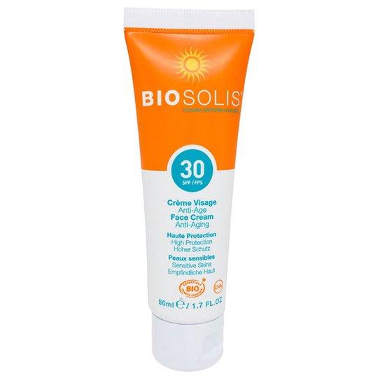 Biosolis Anti-Aging Face Cream SPF 30, 50 ml