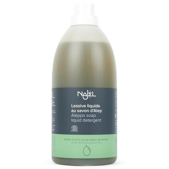 Najel Tvättmedel med Aleppotvål - Parfymfritt, 2 L