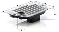 Hydrauliikkasuodatin, automaattivaihteisto MANN-FILTER H 2120 x KIT