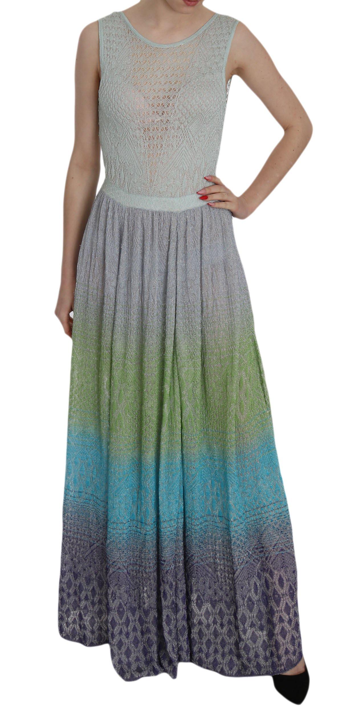 Missoni Women's See Through Donna Dress Multicolor DR1986 - IT42|M