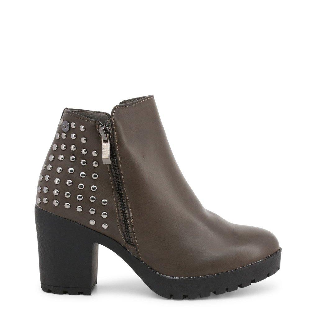 Xti Women's Ankle Boots Grey 48456 - grey 36 EU