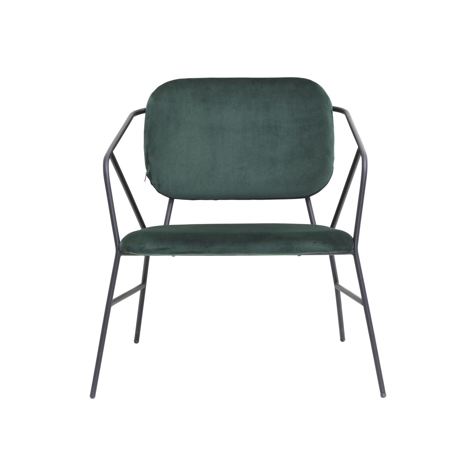 Lounge stol KLEVER grön, House Doctor