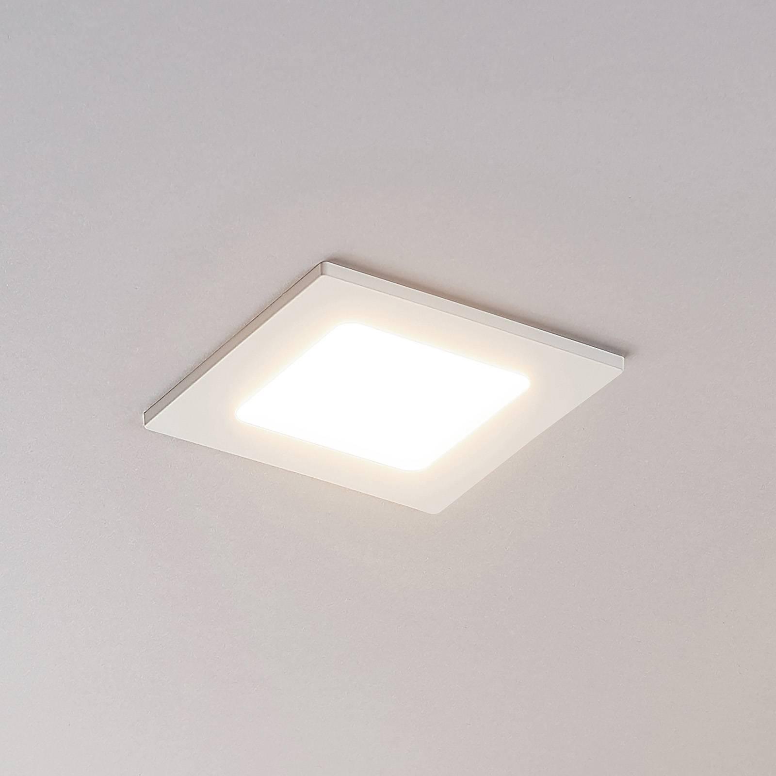 LED-kohdevalo Joki valkoinen 3000K kulmikas 11,5cm