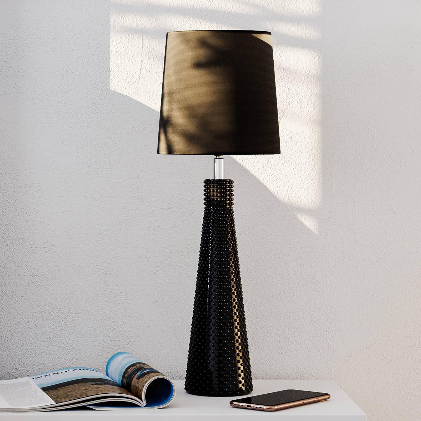 By Rydéns Lofty Slim bordlampe svart