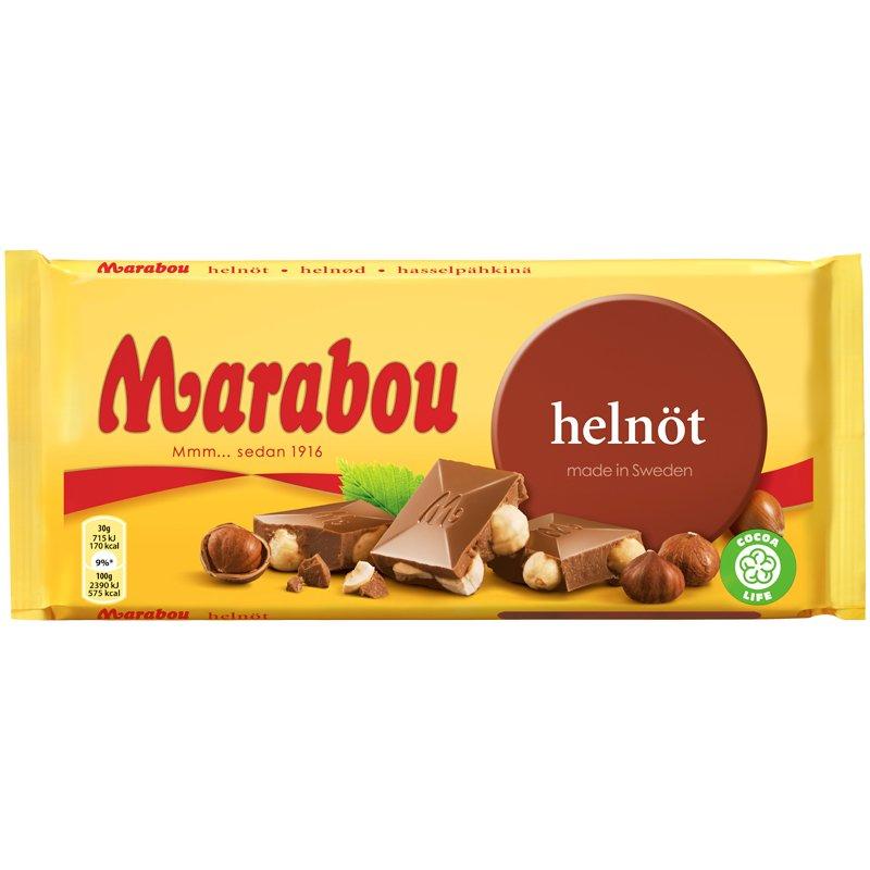 Suklaalevy Hasselpähkinä - 25% alennus