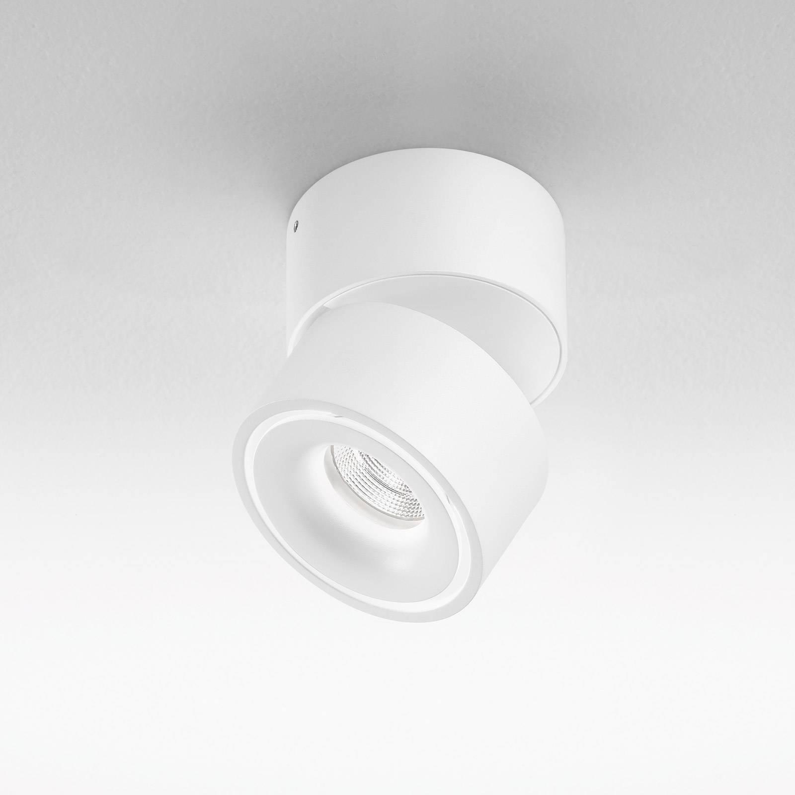 Egger Clippo-LED-kiskospotti dim-to-warm valkoinen