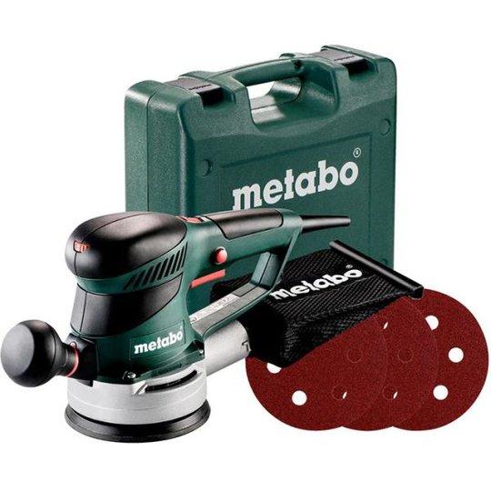 Metabo SXE 425 TURBOTEC SET Epäkeskohiomakone Mukana 12 hioma-arkkia, 320 W