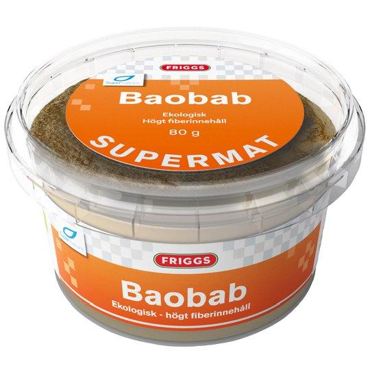 Baobabpulver 80g - 51% rabatt