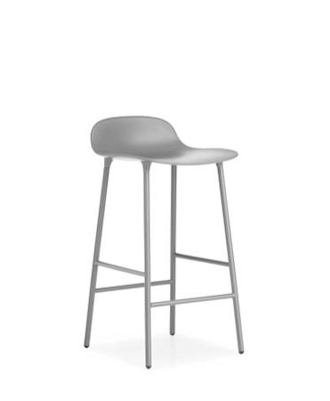 Form Barstol Grå 65 cm