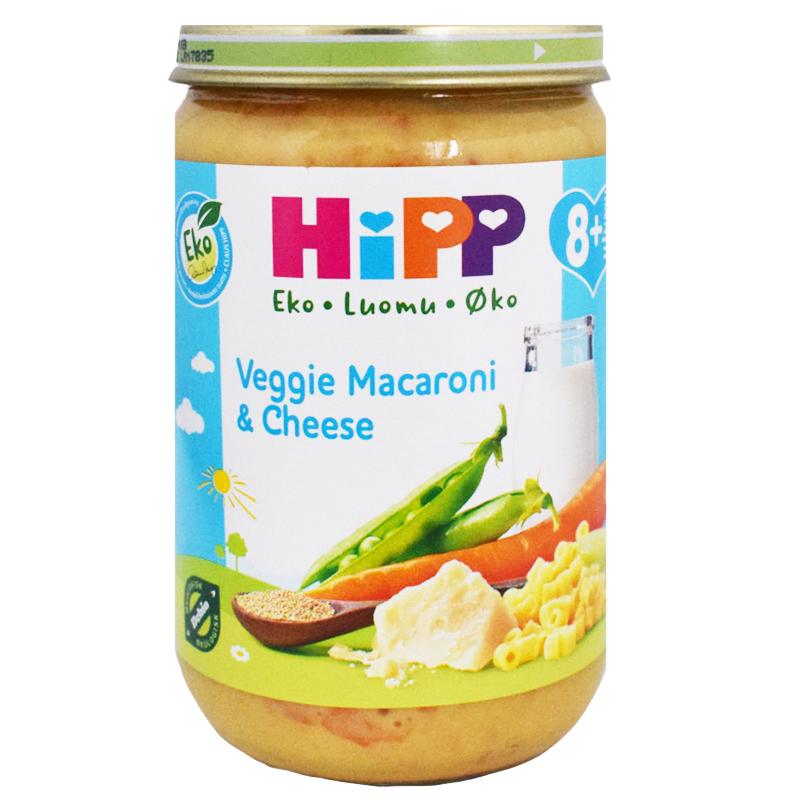 """Barnmat """"Veggie, Macaroni & Cheese"""" 220g - 28% rabatt"""