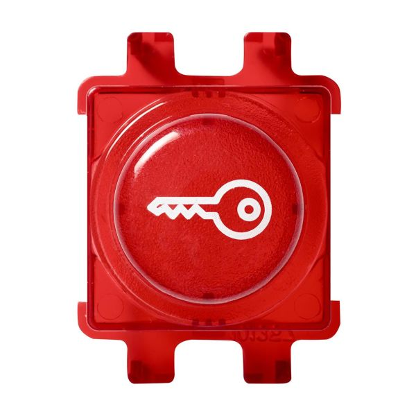 Schneider Electric WDE011523 Painonappi Punainen Avainsymbolilla