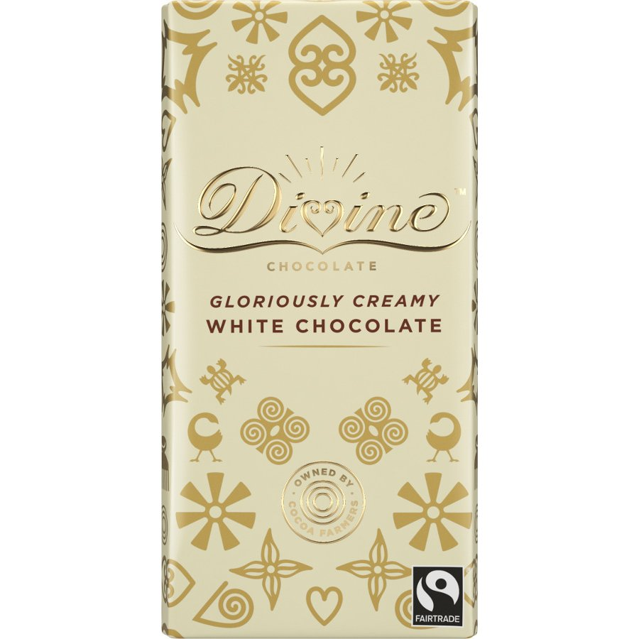Divine Chocolate Creamy White 90g